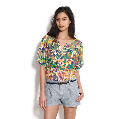 Floral Waterfall Top