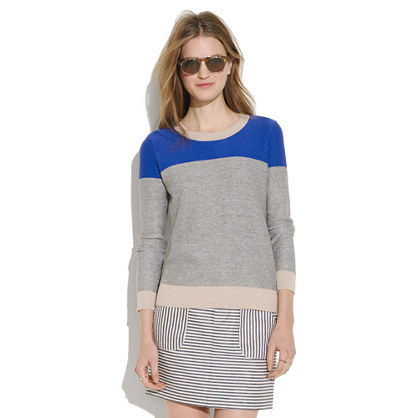 Color-Weave Sweater