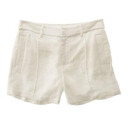 Linen Deck Shorts