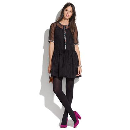 Rachel Antonoff Organza Jack Combo Dress