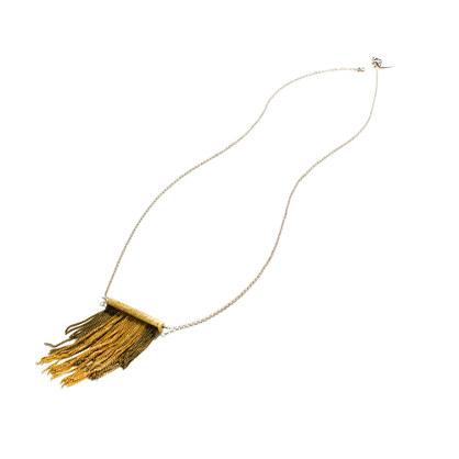 Flapper Fringe Necklace