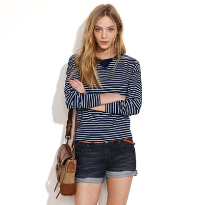 Indigo-Stripe Outfield Sweatshirt