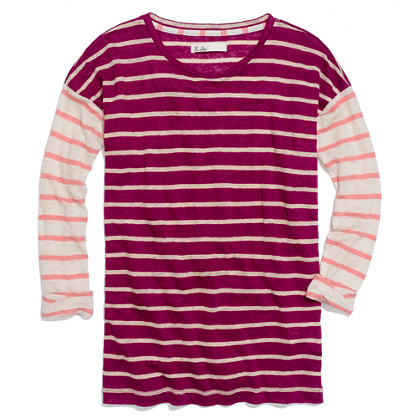 Easy Tee in Multistripe