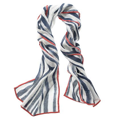 Shadow-Stripe Scarf