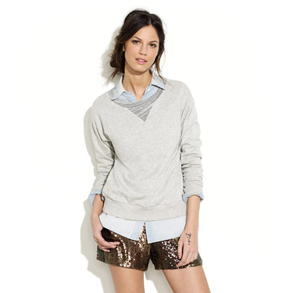 Gallery Hop Sequin Shorts