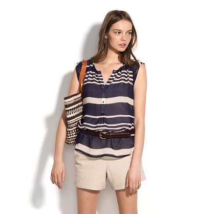Noonday Stripe Shutterbug Top