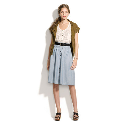 Chambray Sightseer Skirt