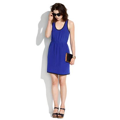 Silk Racerback Dress