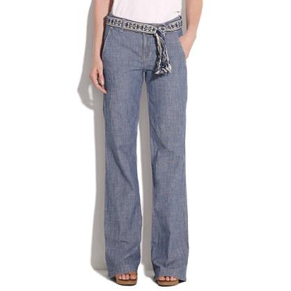 Widelegger Jeans in Amarillo Wash