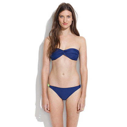 Basta® Surf Tonga Bikini Top in Navy & Black