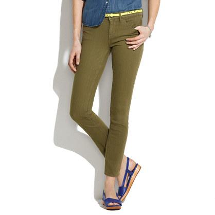 Skinny Skinny Ankle Jeans in Tuscan Olive