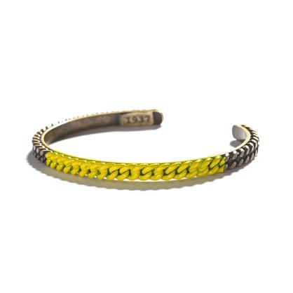 Colorblock Chain Cuff