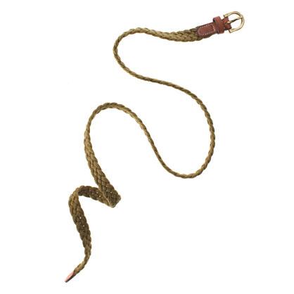 Rope Braid Belt