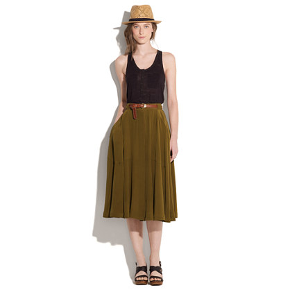 Silk Canyon Skirt