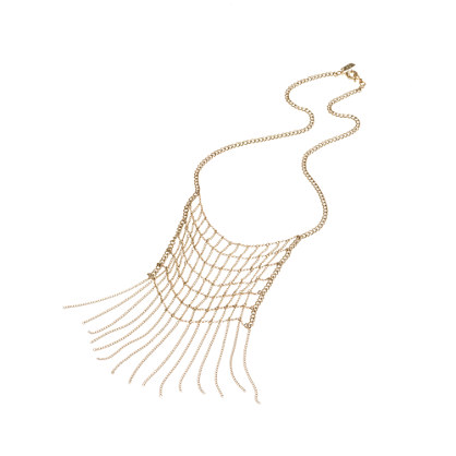 Chain Net Necklace