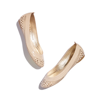 Belle by sigerson morrison® Andromeda Patent Laser-Cut Flats