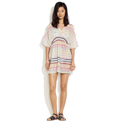 Zimmermann Whisper Rainbow Stripe Dress