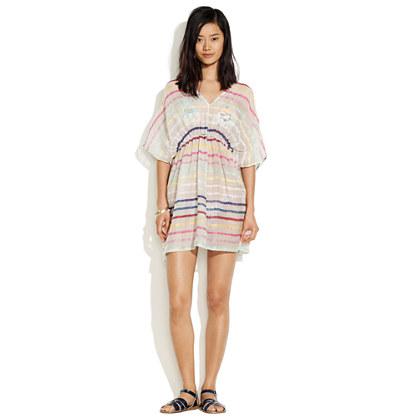 Zimmermann Whisper Rainbow Stripe Dress