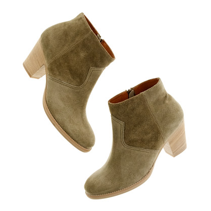 The Suede Zipcode Boot