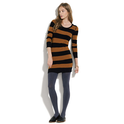 Striped Lamppost Sweaterdress
