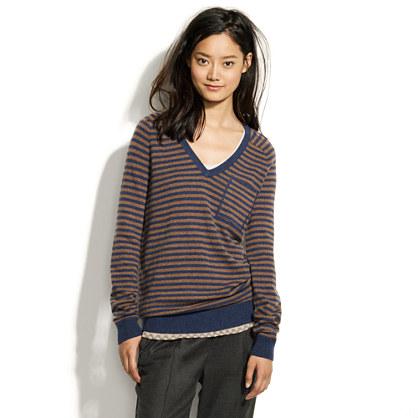 Striped Cashmere Cabin Sweater
