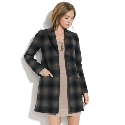 Plaid Passporter Coat