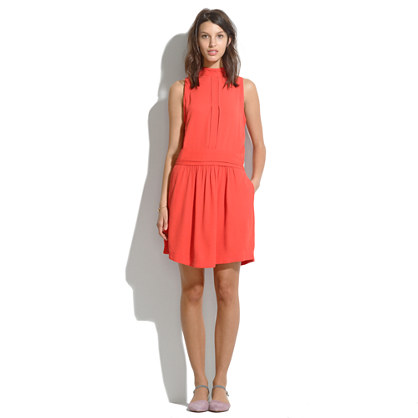 See By Chloé® Mandarin-Collar Dress