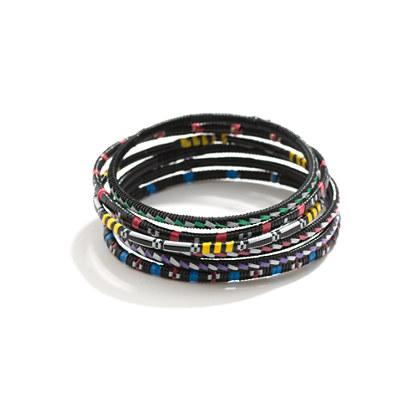 Market-Weaver Bracelet Stack