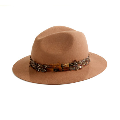Forest Feather Fedora