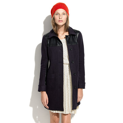 Alexa Chung For Madewell Bin Man Coat