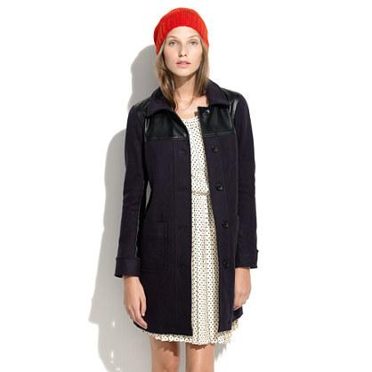 Alexa Chung For Madewell Bin Man Coat