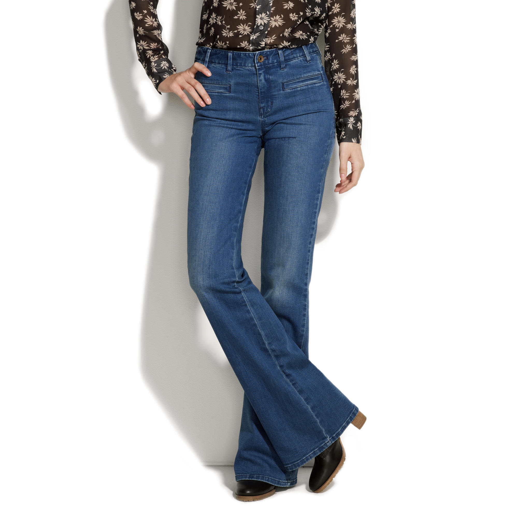 Alexa Chung for Madewell It's All Happening Denim Trousers ...