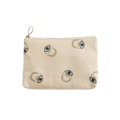 Alexa Chung for Madewell Eyes Eyes Eyes Pouch
