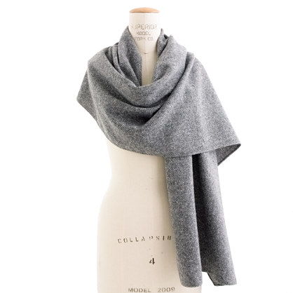 The Hill-side® Wool Tweed Scarf
