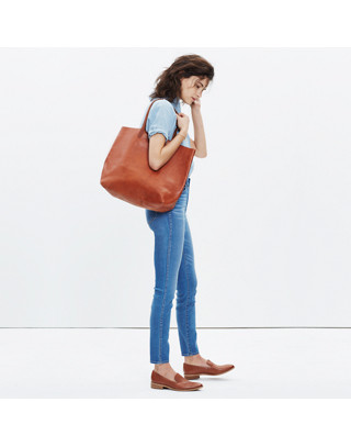 The Transport Tote in english saddle image 2