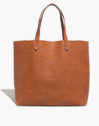 The Transport Tote in english saddle image 1