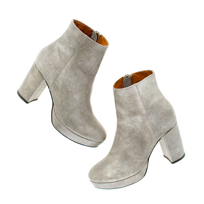Alexa Chung for Madewell Zowie Boots in Metallic