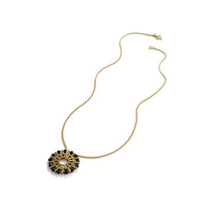 Deco Burst Pendant Necklace
