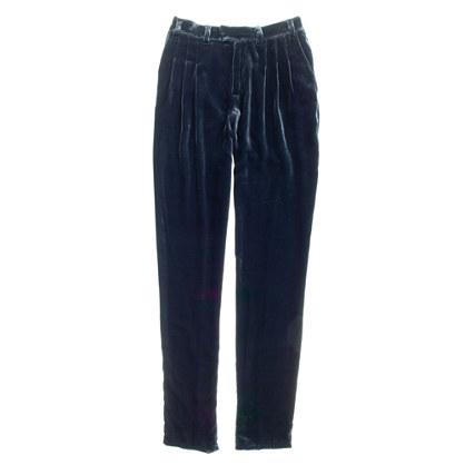 Velvet City Block Trousers