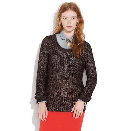 Metallic Coldspell Sweater