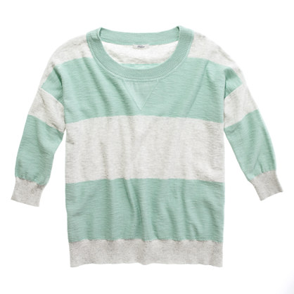 Striped Outfield Sweater