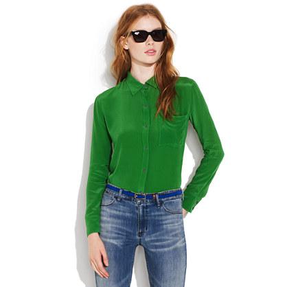 Silk Mosswood shirt