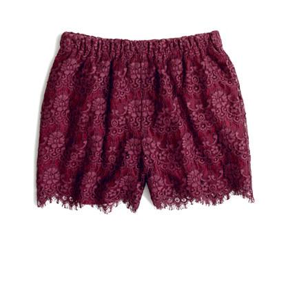Flowerlace Shorts
