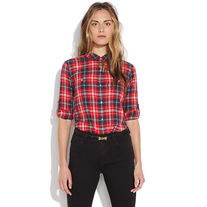 Hollyberry Plaid Ex-Boyfriend Shirt