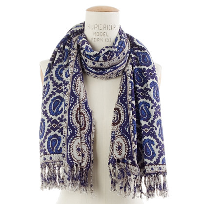 Happy Trails Paisley Scarf
