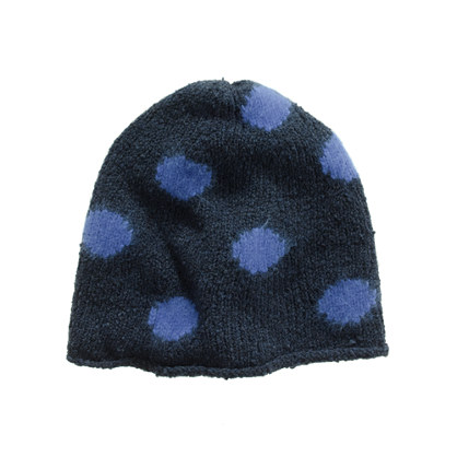 Spotted snowfall Hat