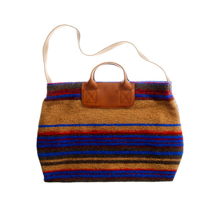 The Blanket-stripe Tote