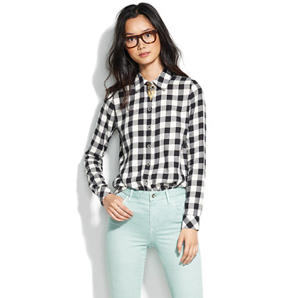 Lumbercheck Tunic Shirt