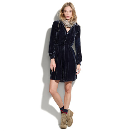 Velvet Songbird Shirtdress
