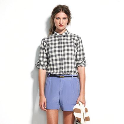 Silk Walkway Shorts